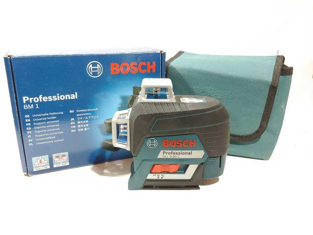Laser Liniowy Bosch GLL 3-80 C Professional + Bosch BM1 Professional