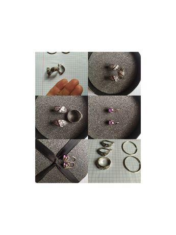 Продам серебро(серьги,набор)