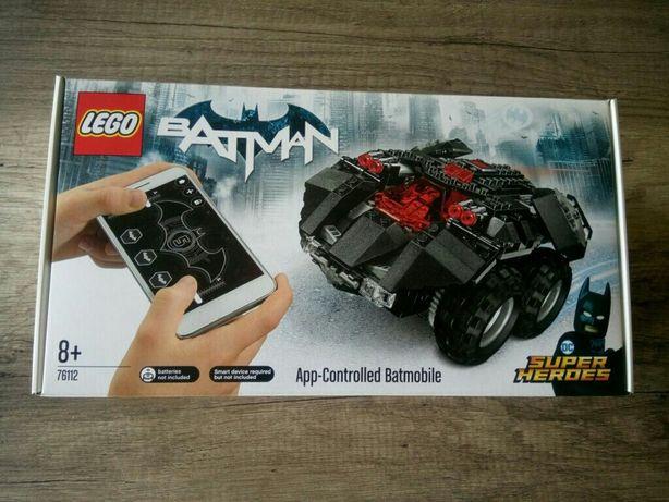 Lego 76112 Batman app-controlled batmobile dc super heroes Selado