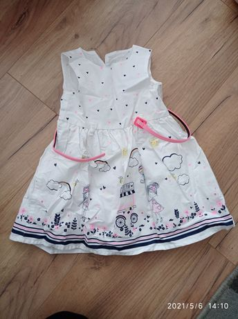 Sukienka Primark 9-12 mc