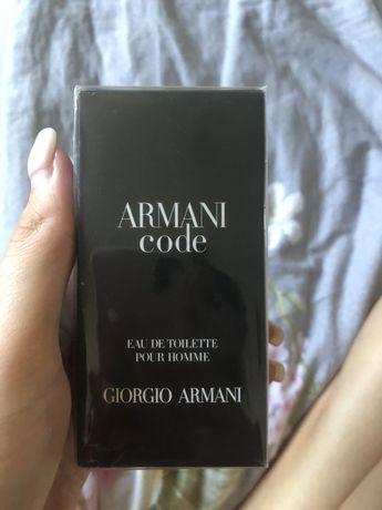 Туалетна вода armani code