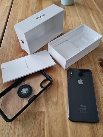 Iphone XS 64 gb Grey Stan idealny ! nieuszkodzony ! Pelen zestaw !