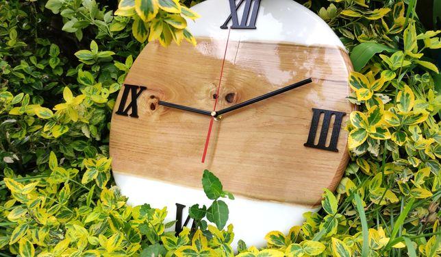 Zegar z żywicy 40cm