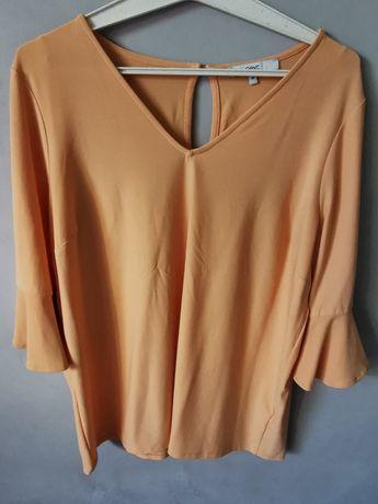 Brzoskwiniowa bluzeczka XXL