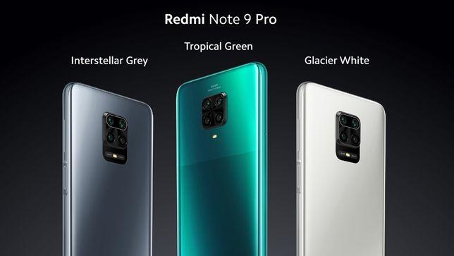 Xiaomi Redmi Note 9 Pro 6/64 +защитное стекло
