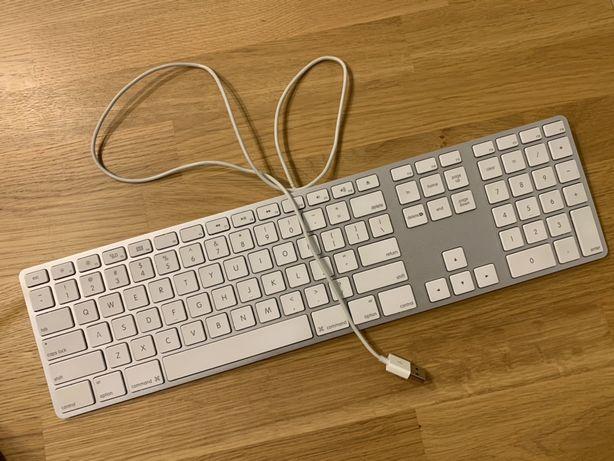 Apple klawiatura QWERTY USB uszkodzona na części