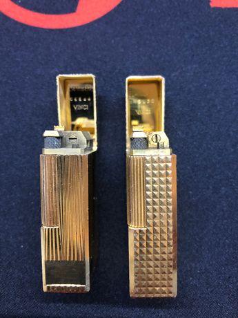 2 isqueiros Flaminaire 20 microns ouro