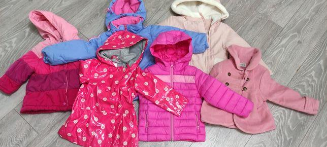 Ubranka dla dziewczynki 86-92 zestaw. Mega paka