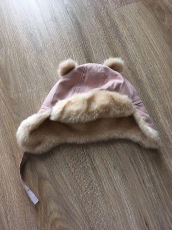 Ciepła czapka dla dziewcyznki h&m r.80