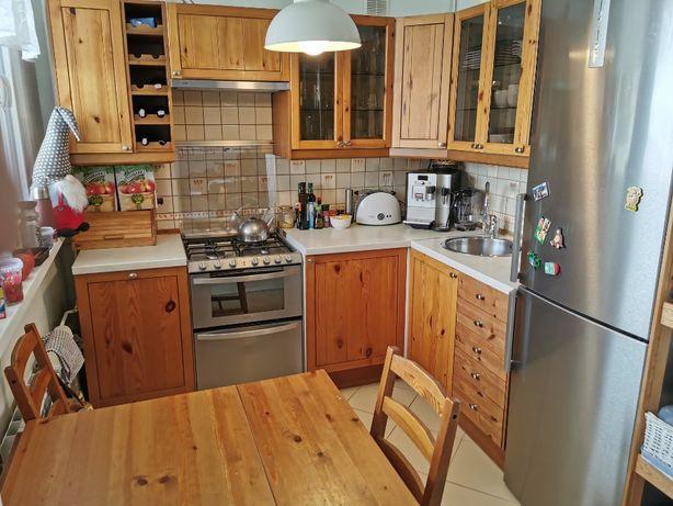 Meble kuchenne Ikea drewno ze sprzętem