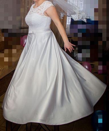 Свадебное платье + украшения
