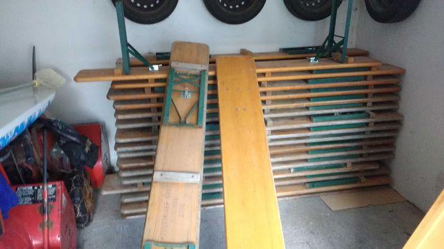 Stoly lawki okolicznosciowe  320 drewniane Ruku