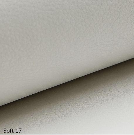 Экокожа мебельная обивочная Soft, белый, пог. м.