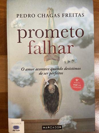 Livro - Prometo Falhar - Pedro Chagas Freitas