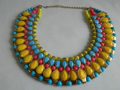 Ожерелье Египетские мотивы, 70 см.