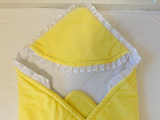Конверт для выписки из роддома, одеяло в кроватку, коляску:  2 в 1