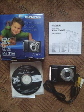 Фотоопарат olympus fe-47