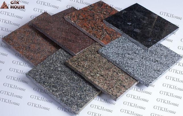 Плитка гранитная - Различные изделия из гранита (ступени, подоконники)