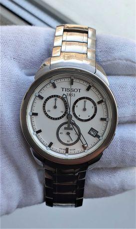 Мужские часы Tissot T069.417.44.031.00 Titanium 100m 43mm Chronograph