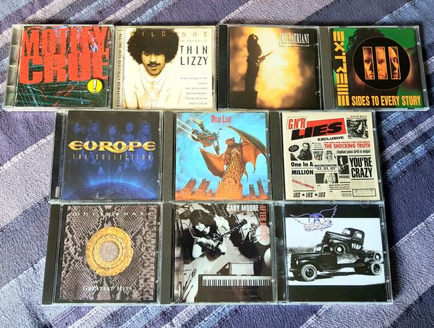 Lote de 10 CDs - Hardrock 2 (Portes Grátis)