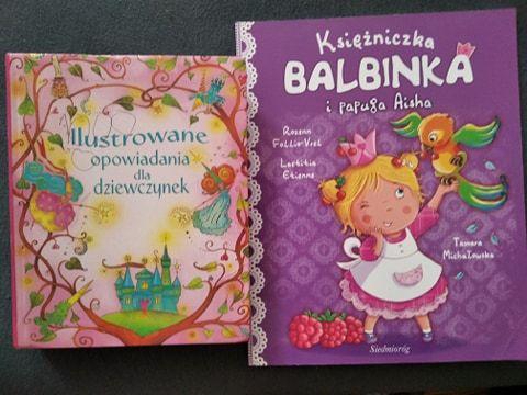 Książki dla dziewczynek - obie za 5 zł