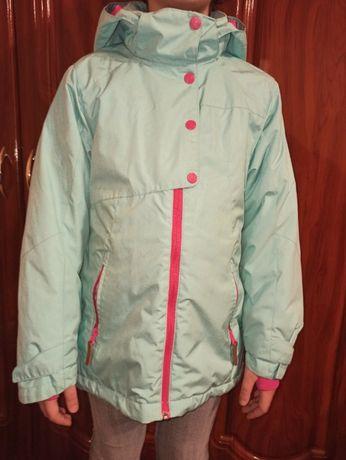 Куртка куртки на дівчинку р.140-152 демісезонні