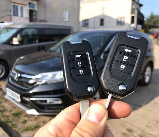 Kluczyk Honda z kodowaniem, Civic CRV Accord Jazz HRV, immo Warka
