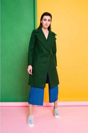 Женское Пальто NAVYSAND, зеленое, новое с биркой.