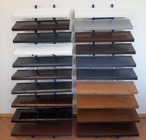 Parapety zewnętrzne - stalowe RAL i stalowe drewnopodobne