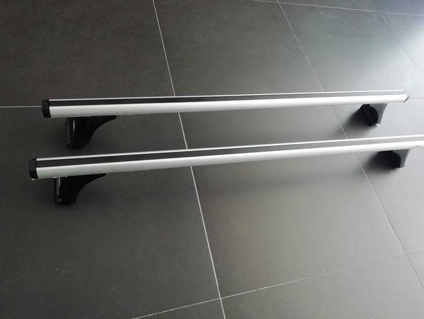 Barras de tejadilho Cruz de alumínio 924-760 com kit de segurança