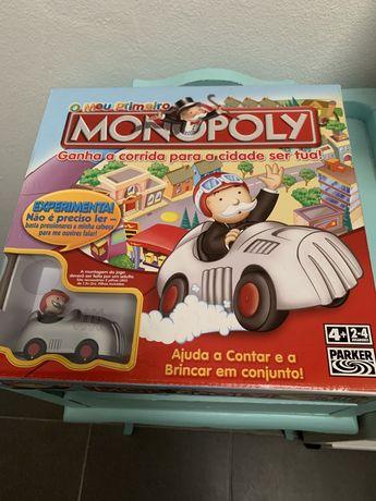 Jogo O meu primeiro monopolio novo
