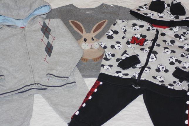 Next H&M George Zara Disney Mickey Спортивный костюм свитер пакет одеж