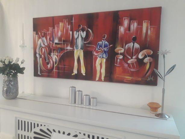 Obraz 120x60 ręcznie malowany