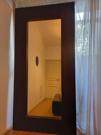Espelho Mongstad IKEA Preto em perfeitas condições