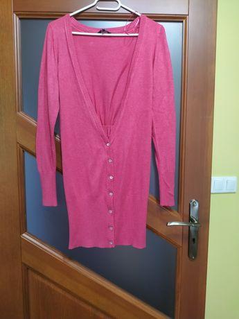 Różowy sweter r. 40