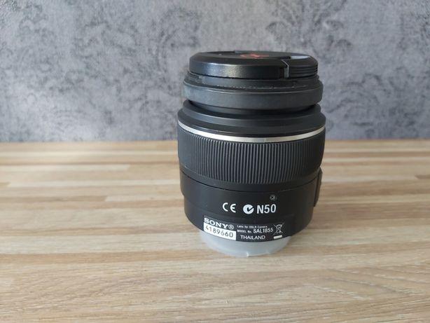 Obiektyw SONY model DT 18-55 mm f/3.5-5.6 SAM