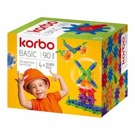 Конструктор шестеренки Korbo Basic 90 деталей