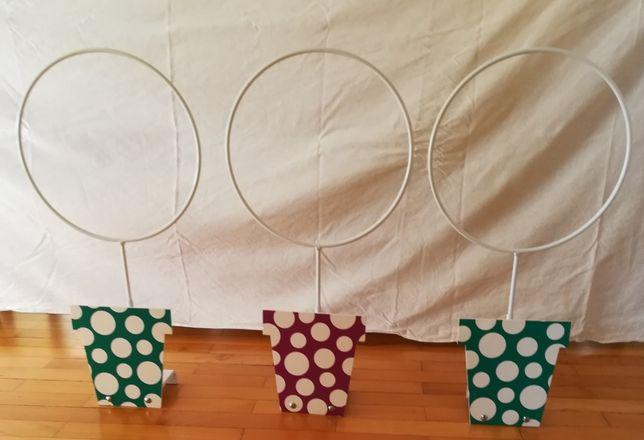 Três Peças Decorativas