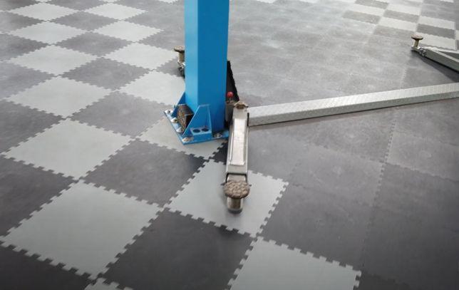 Pavimentos em PVC para oficinas Auto, Motos e Pneus