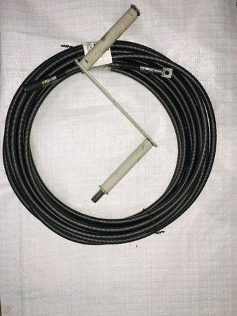 Трос сантехнический 6, 8мм, 10 мм, 12мм, 14мм, 16мм 19мм усиленный. Ва
