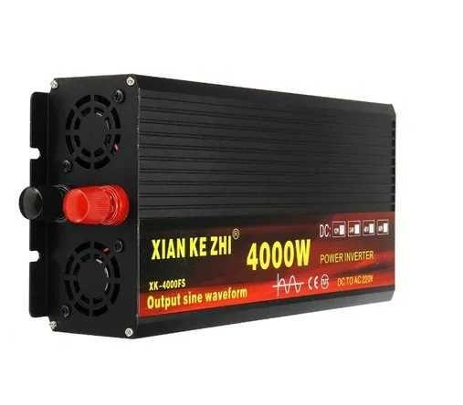 Inversor de onda pura de alta qualidade / Conversor 12V ou 24V - 220V