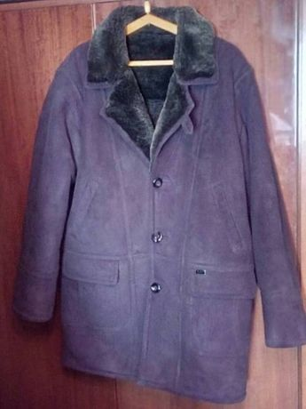 Куртка дубленка мужская комбинированная