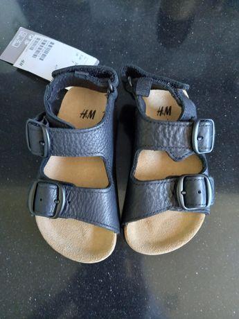 Sandałki nowe h&m rozm 24
