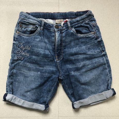 Spodenki jeans Zara 140