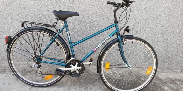 damski rower koła 28cal rama 53cm 7+3 przerzutki