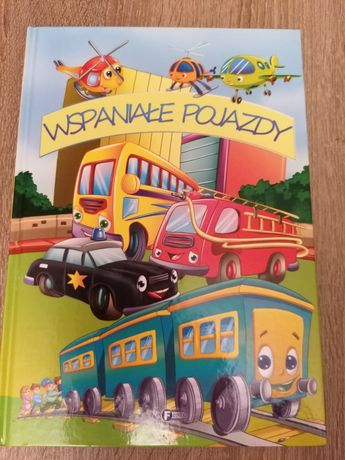 Książka dla dzieci Wspaniałe pojazdy