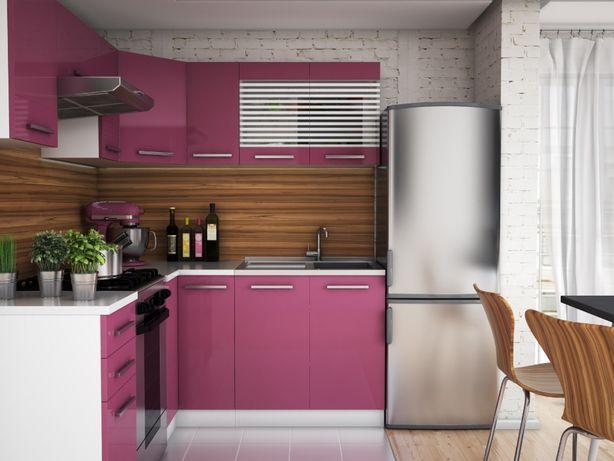 Akryl narożny zestaw mebli 3,6 m meble kuchenne kuchnia Zosia 03