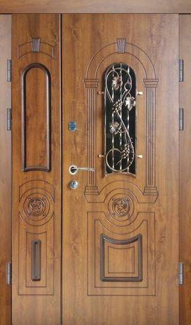 двері вхідні з вікном двері броньовані