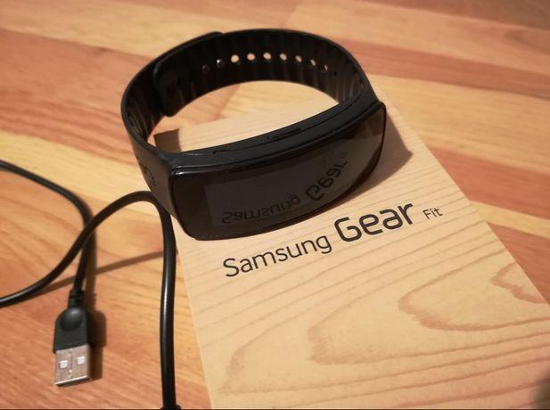 Samsung GEAR FIT Smartwatch Pulsometr opaska sportowa na rękę