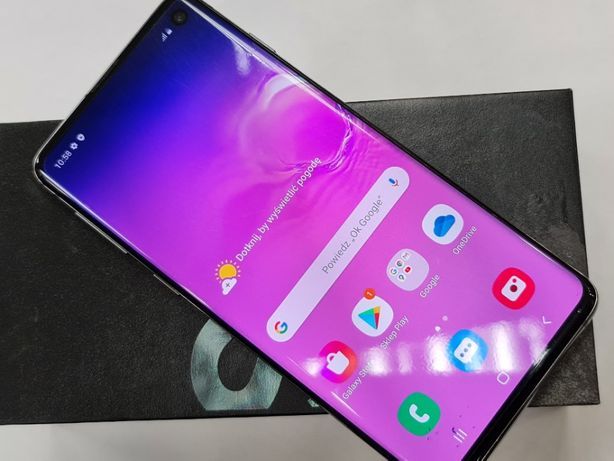 31.08.19! Samsung Galaxy S10 Dual SIM/ Prism Black/ Gwarancja/ ładny!